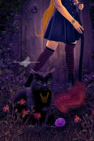 The Witch's Cat by maiarcita