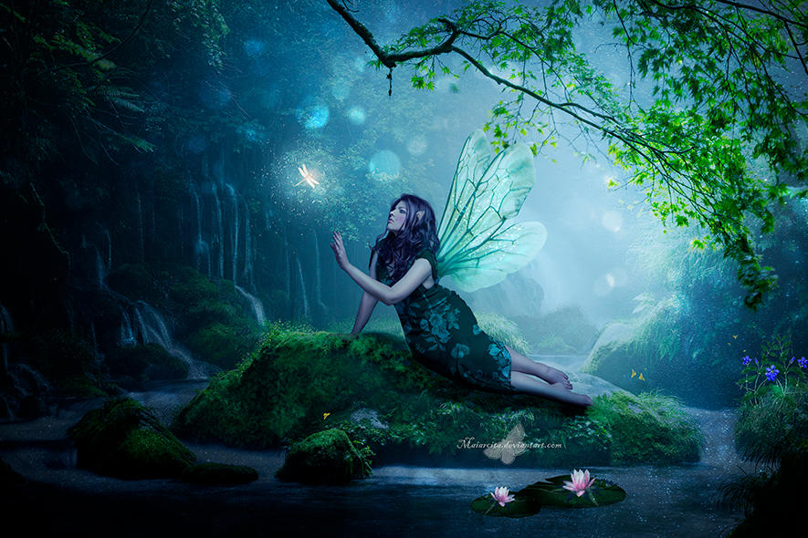 The Waterfall Fairy