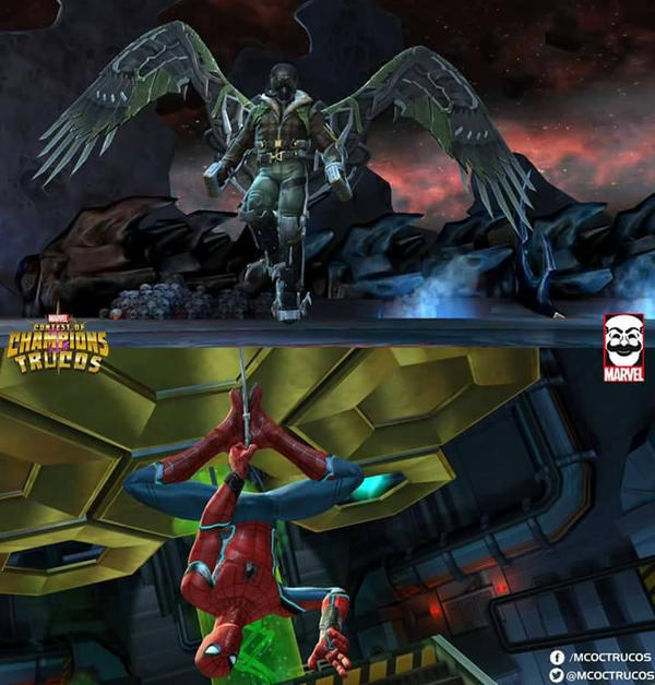 Vulture  Spider-Man(UCM) - MCoC by LaxXter