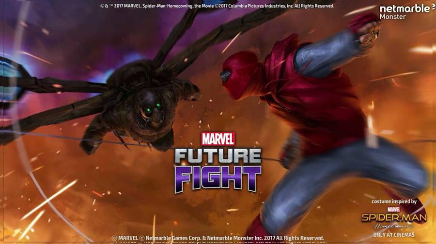 Marvel Future Fight - Spider-Man Homecoming  by LaxXter