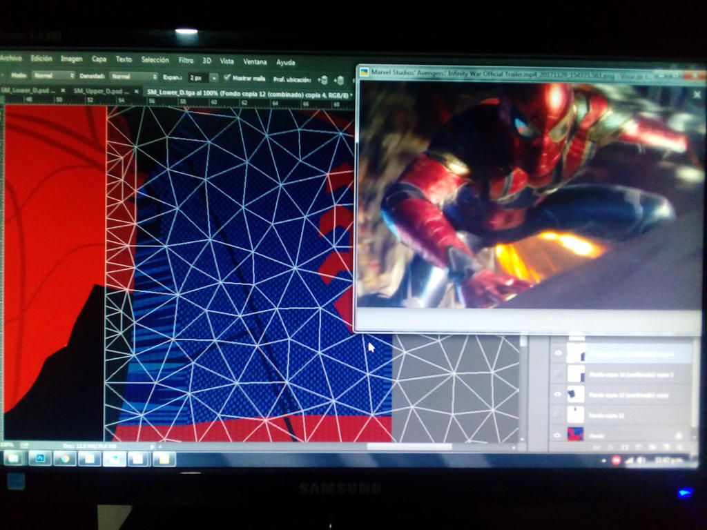 Modification Iron Spider  by LaxXter