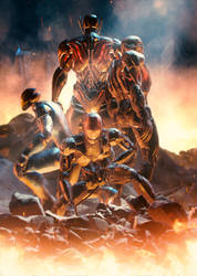 Ultrons - The Revenge of Ultron by LaxXter