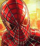 Sam Raimi's Spider-man Wallpaper by Israel2099