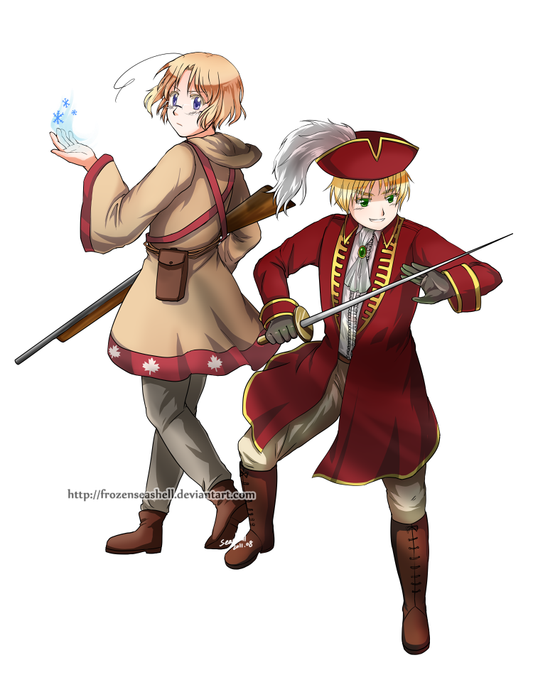 APH RPG-Magician and Swordsman by FrozenSeashell