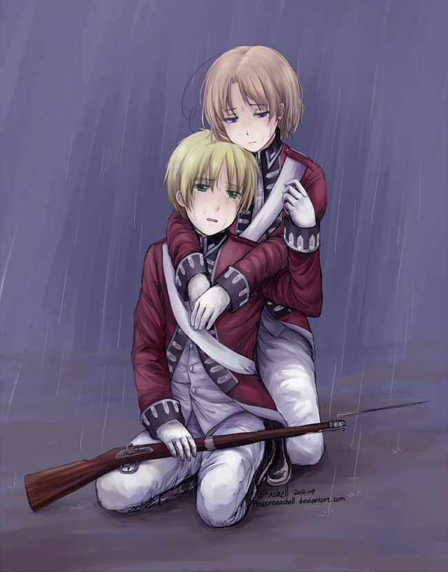 Hetalia- Beside Each Other Till the Rain Stops by FrozenSeashell