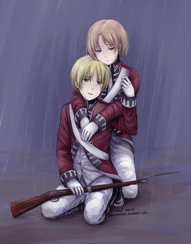 Hetalia- Beside Each Other Till the Rain Stops by FrozenSeashell