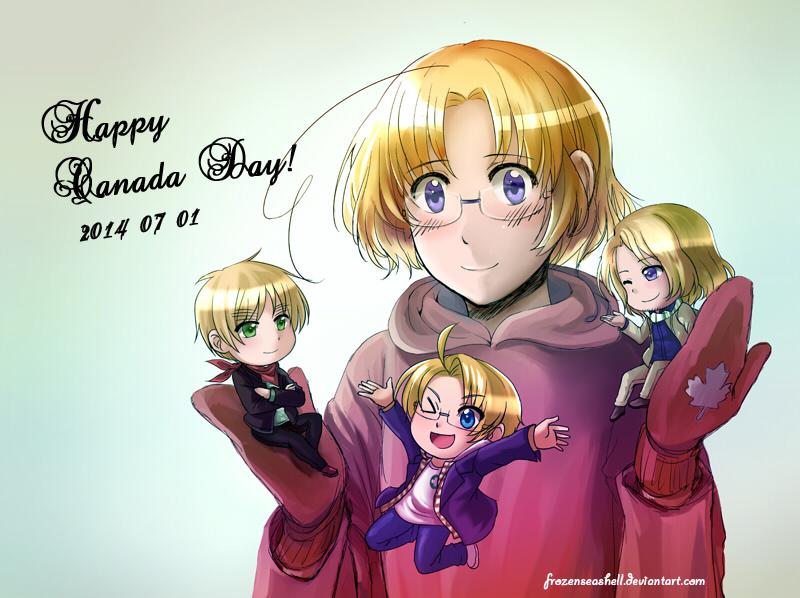 Happy Canada Day 2014! by FrozenSeashell