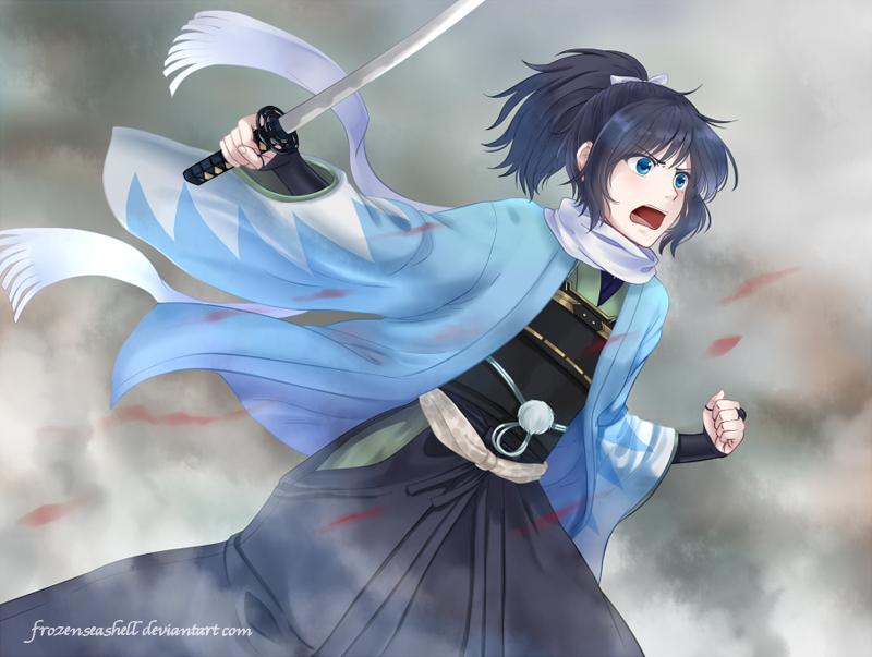 [Touken Ranbu] Yasusada by FrozenSeashell