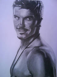 David Beckham by Tomicko