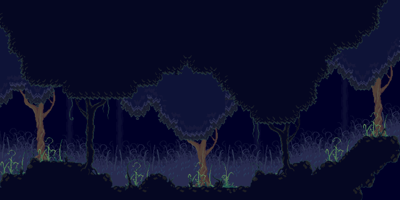 Pixel Moldering Dark Forest By Philllchabbb On Deviantart