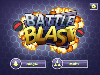 Battle Blast Mockup GUI by PhilllChabbb