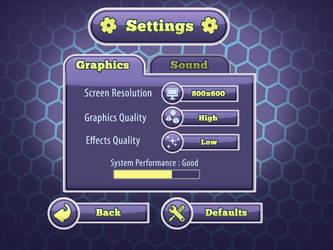 Menu Setting Graphics 01 by PhilllChabbb
