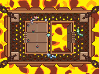 BattleBlast - Lava Level by PhilllChabbb