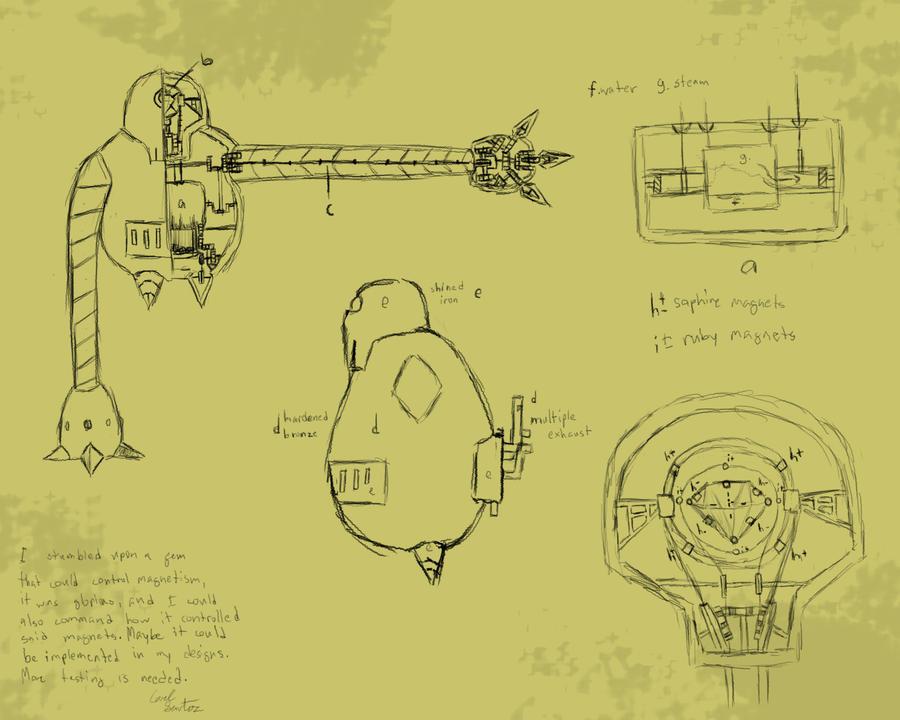 An old blueprint by xionix kun on deviantart an old blueprint by xionix kun malvernweather Choice Image