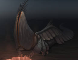 Giant Alien Barnacle by Xionix-Kun