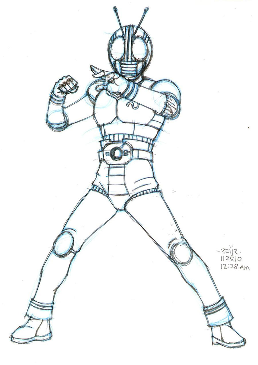 kamen rider coloring pages - photo#5