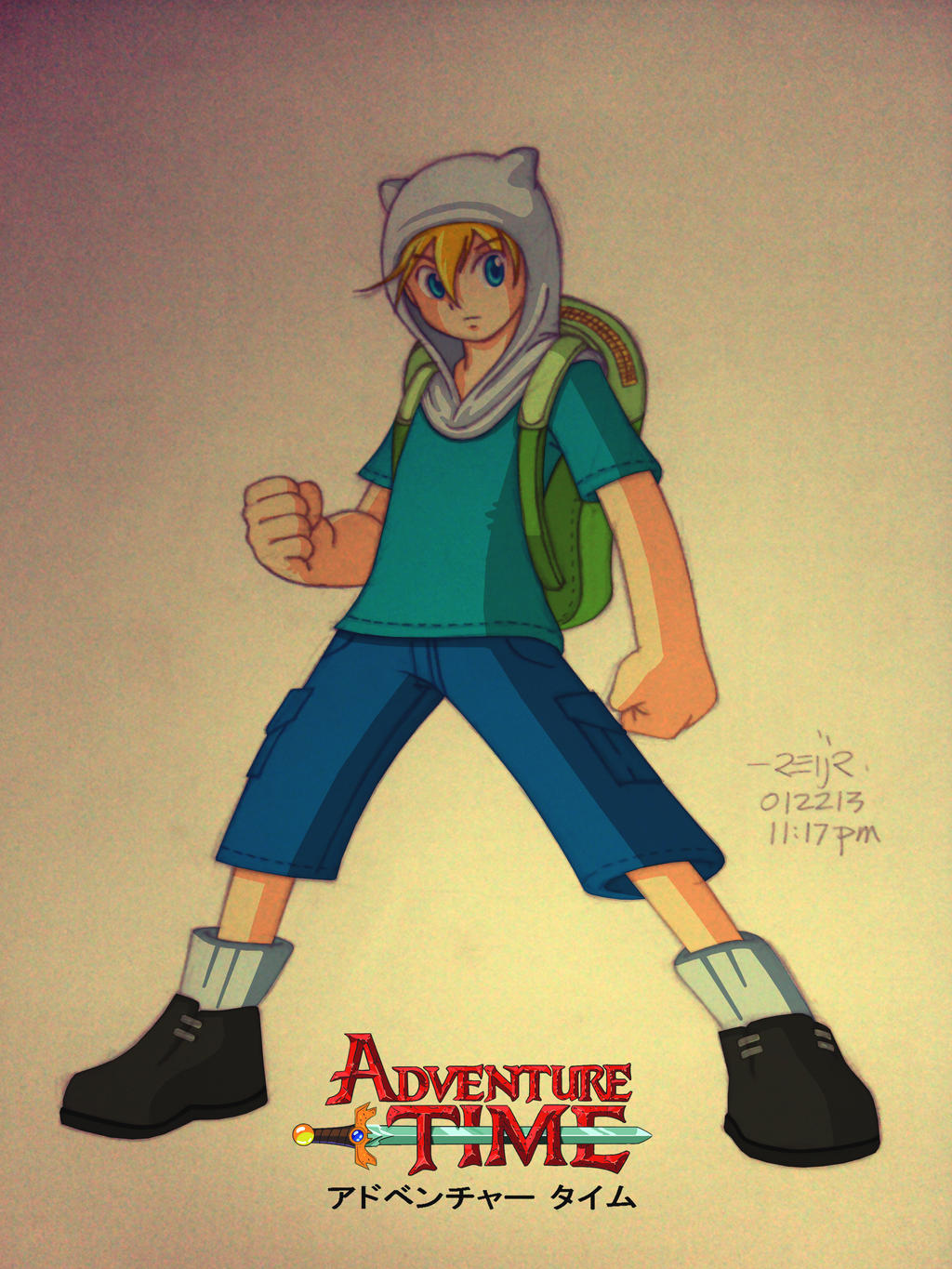 adventure time: finn by reijr on DeviantArt