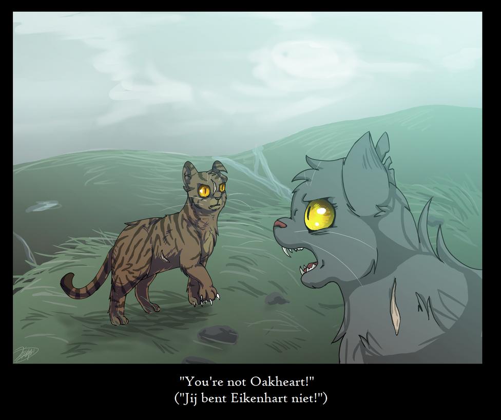 You're not Oakheart! by Moray-Stella