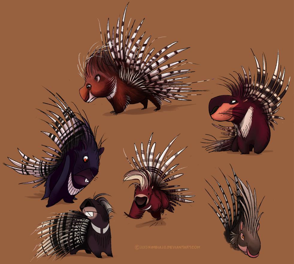 Porcupines by ZhBU