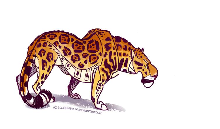 Panthera onca by ZhBU
