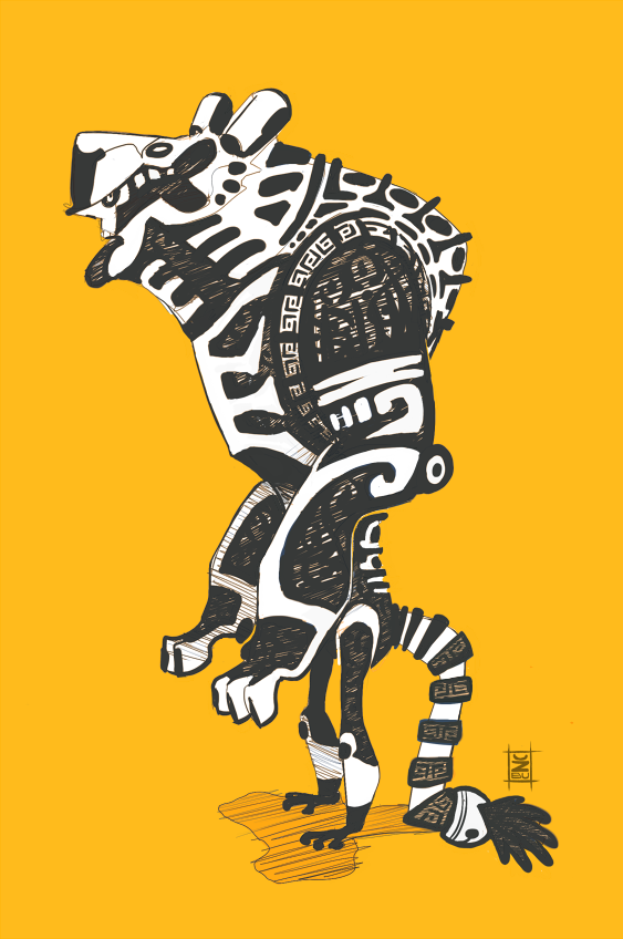 jaguar warrior by ZhBU