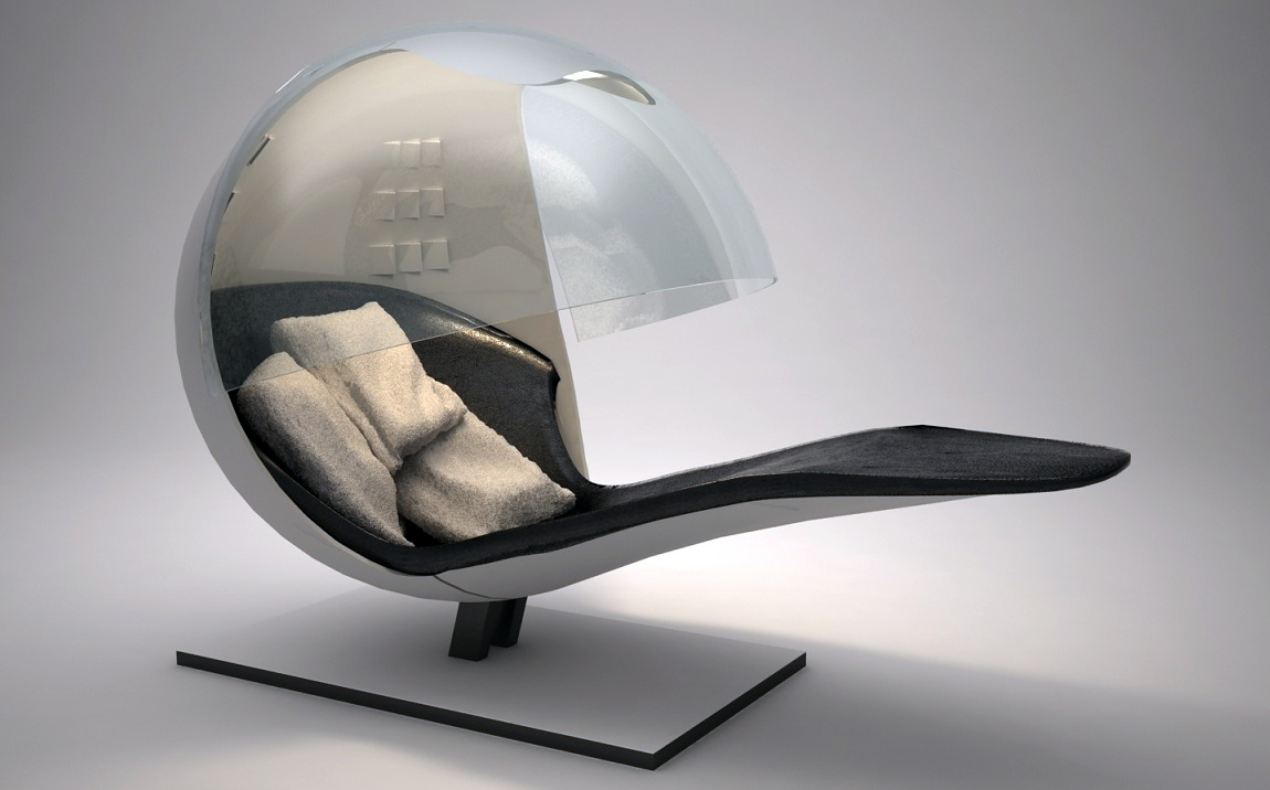 Futuristic Chair By Bkasperski On Deviantart