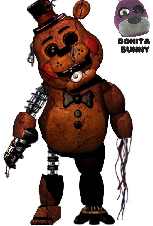 Old Freddy Toys : Withered toy freddy by de activating on deviantart