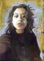 Portrait of Rocio by rehash435