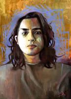 Puke (self-portrait) by rehash435