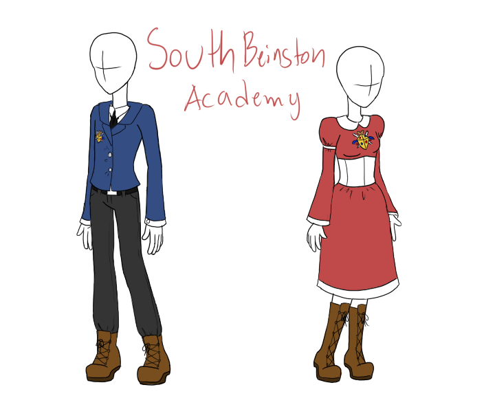 West Beinston Academy uniform by RougeChocobo