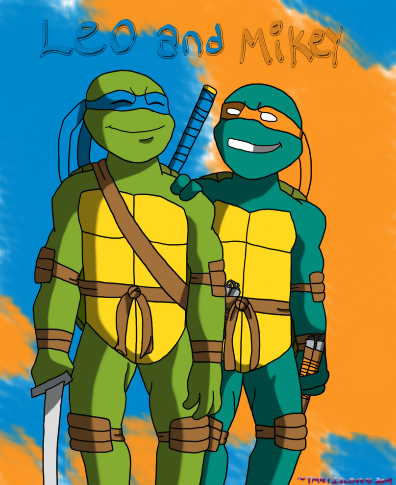 x.Leo and Mikey.x by TMNTISLOVE