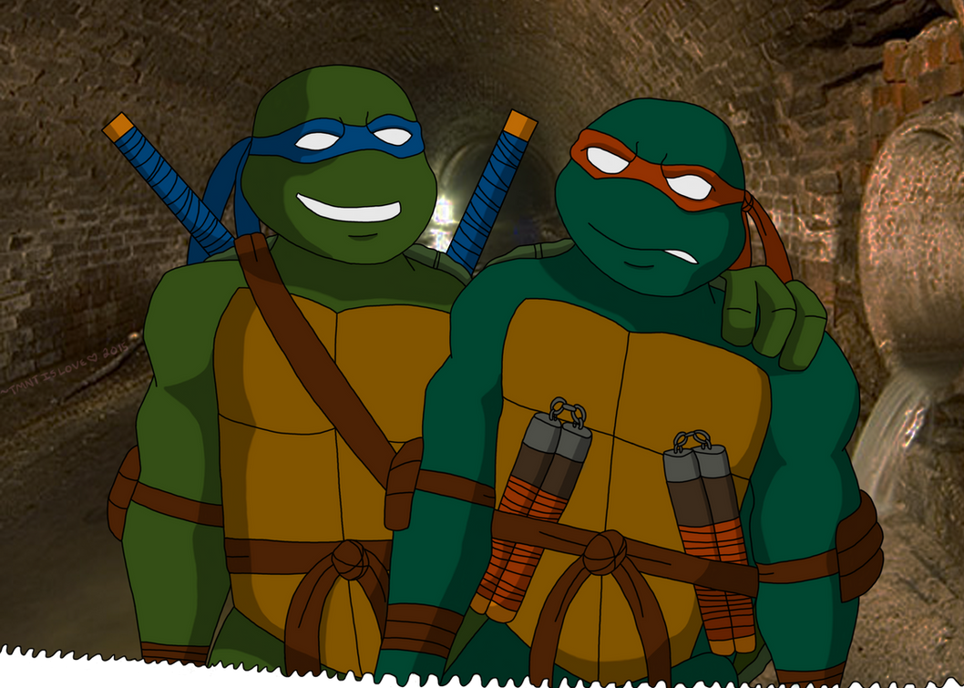 Don't worry Mikey... by TMNTISLOVE