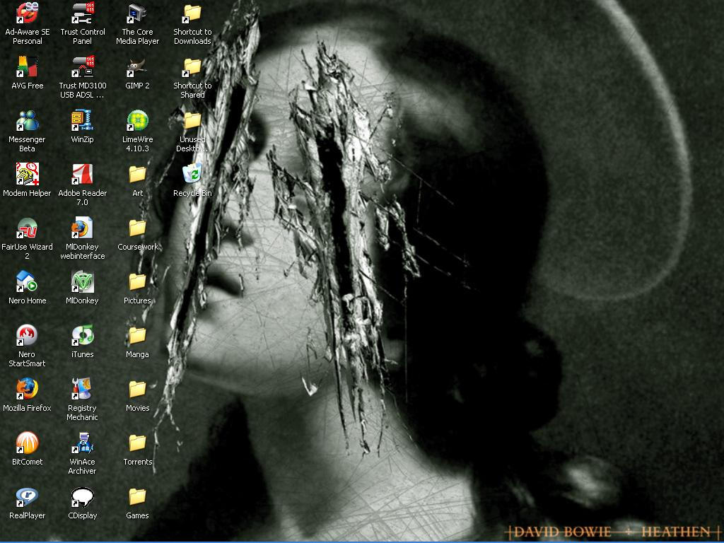 My Beautiful Desktop by Kamete