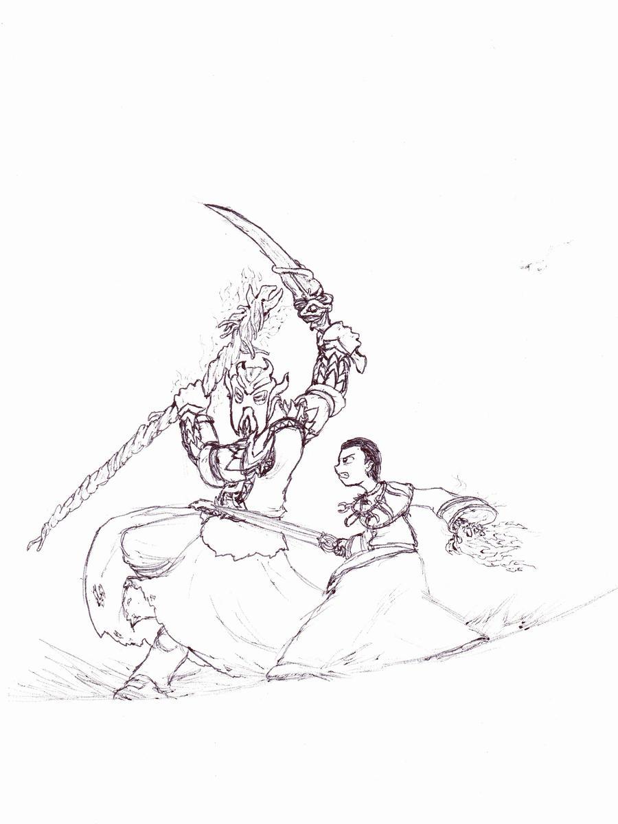 Dragonborn: First vs. Last by Cerberus123