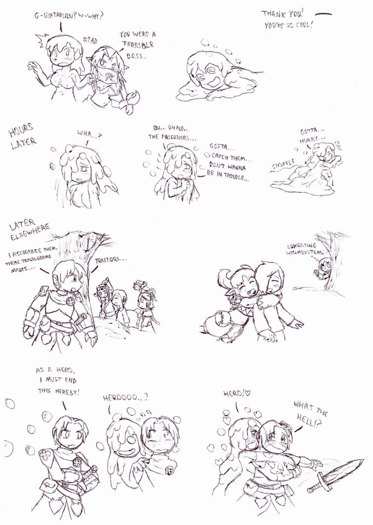 MGE Omake Commission 4 by Cerberus123