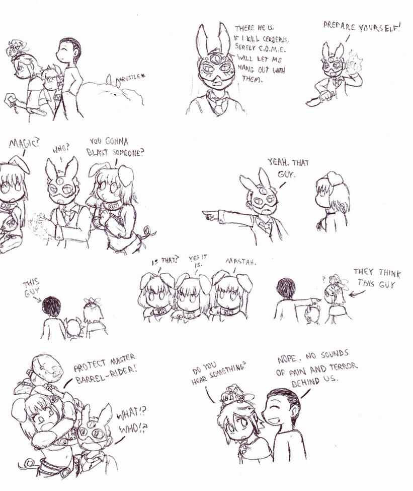 MGE Omake Commision 6 by Cerberus123
