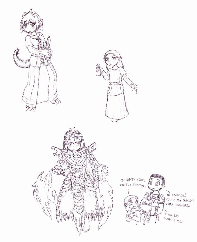 Monster Girls of Skyrim 2 by Cerberus123