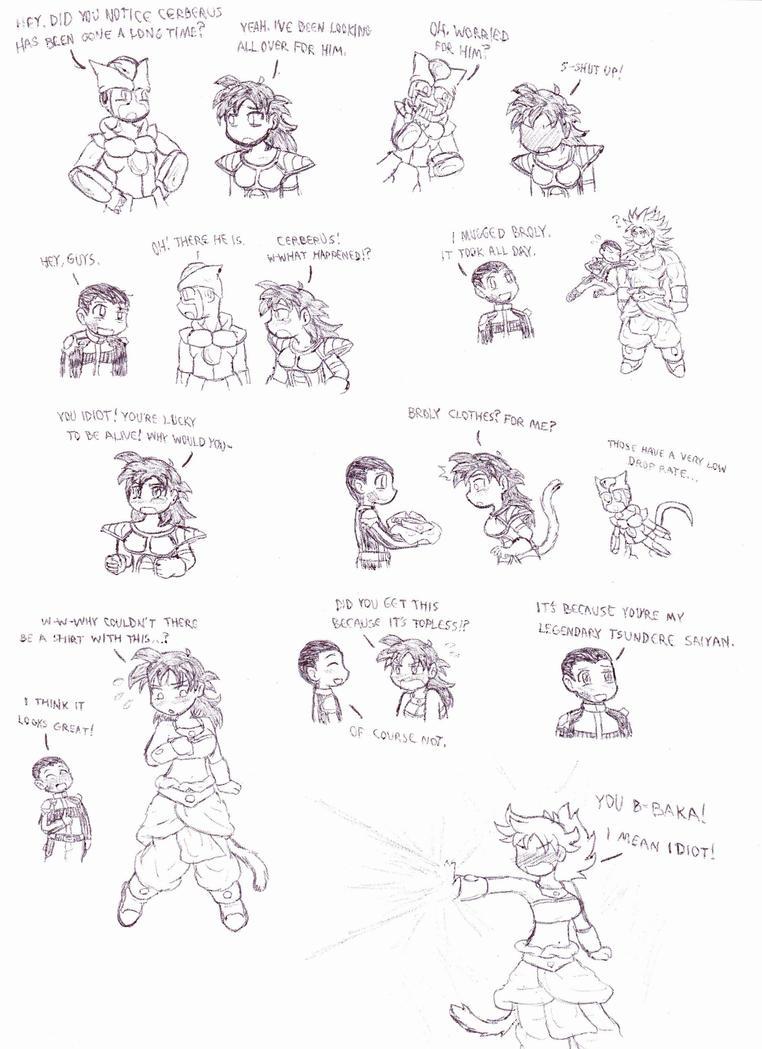 Xenoverse The Legendary Tsundere Saiyan by Cerberus123