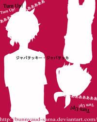 Len and Rin: Jabberwocky Jabberwocka colors by bunnyaud-sama