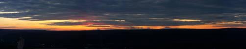 Panorama Sunset by Mahotou