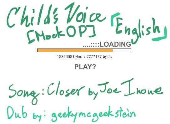 CV - Fake Series Op ENG by Mahotou