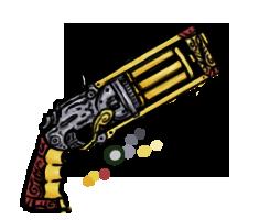 Meg's Steam Gun by Mahotou