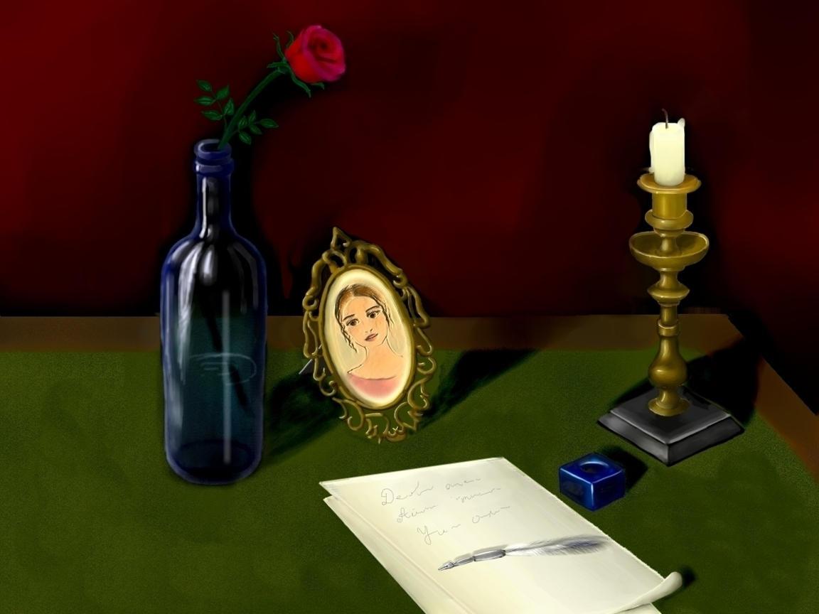 poet in love by nino4art