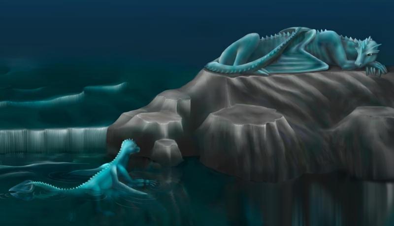 Water Dragon by nino4art