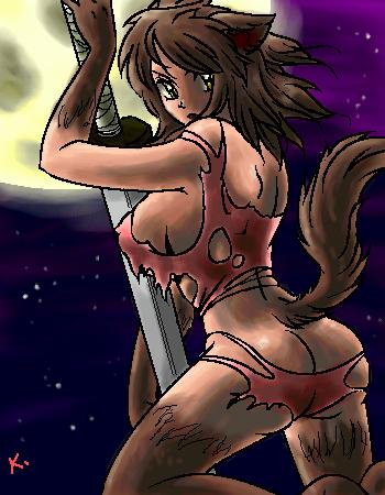 Lesbian fiction wolf