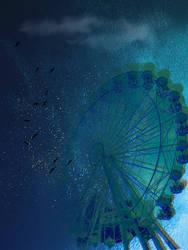 Flying From The Ferris Wheel by Ambertwist