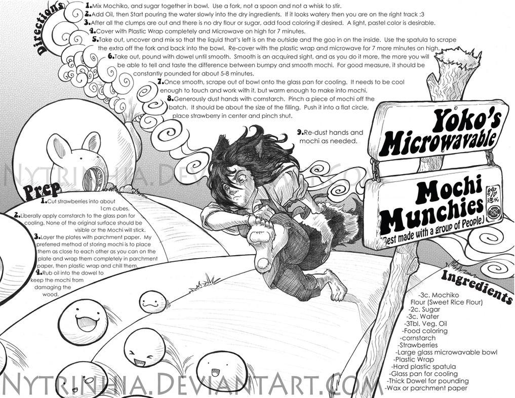 Yokos Microwave Mochi Recipie by Nytrinhia