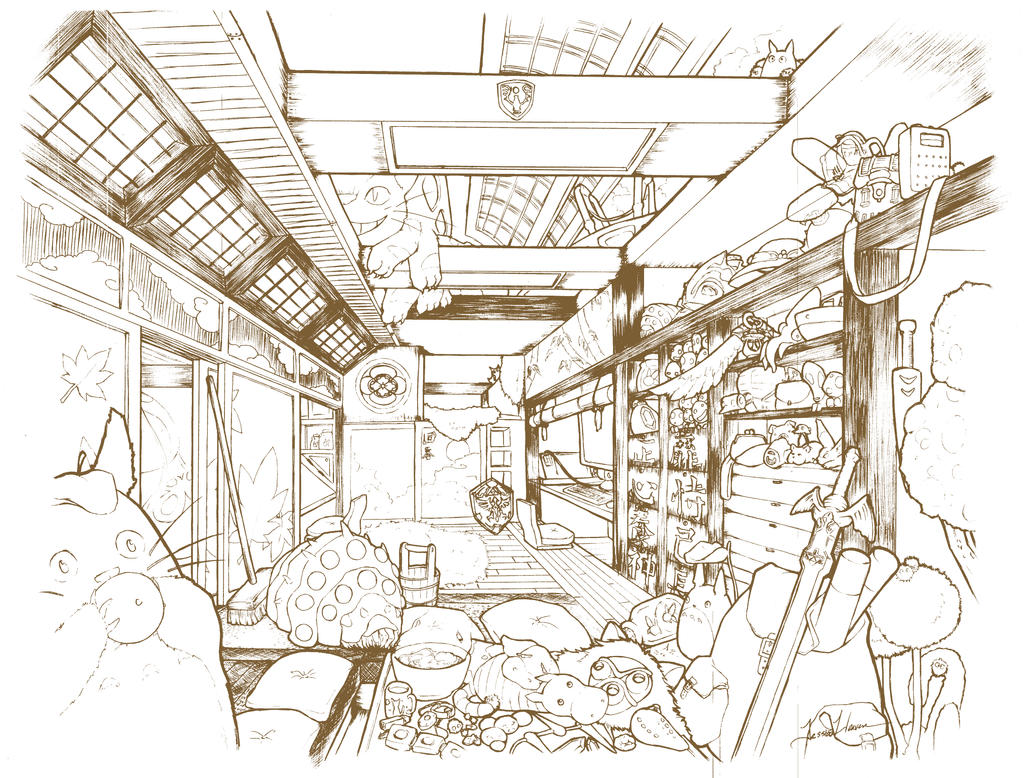 1pt Interior - Studio by Nytrinhia