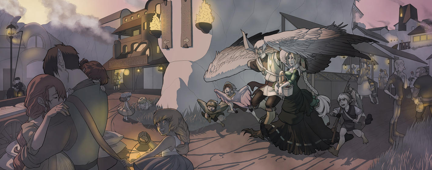 Kakariko Revamp by Nytrinhia