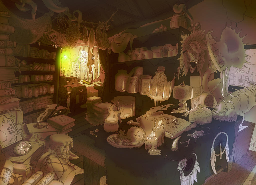 Witch Doctor Progress by Nytrinhia
